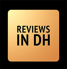 Photo of the logo for Reviews in Digital Humanities
