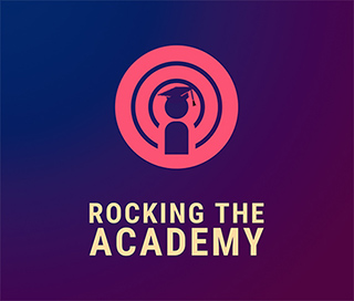 Logo for Rocking the Academy
